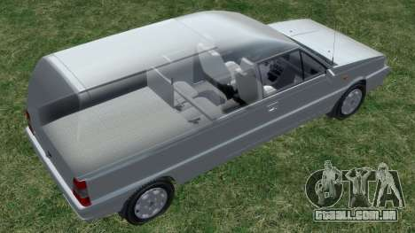 Daewoo-FSO Polonez Bella Blindado 2000 para GTA 4 rodas