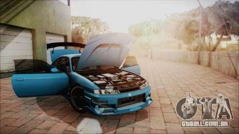 Nissan Silvia S14 Chargespeed Kantai Collection para GTA San Andreas vista interior