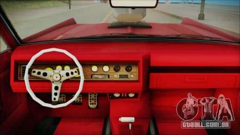 GTA 5 Vapid Chino Bobble Version IVF para GTA San Andreas vista direita