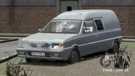 Daewoo-FSO Polonez Bella Blindado 2000 para GTA 4 interior