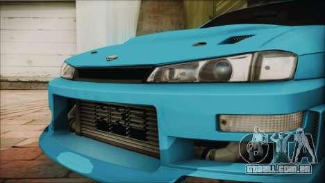 Nissan Silvia S14 Chargespeed Kantai Collection para GTA San Andreas vista direita