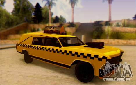 Albany Lurcher Taxi para GTA San Andreas