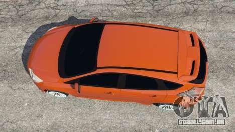 GTA 5 Ford Focus ST (C346) 2013 voltar vista