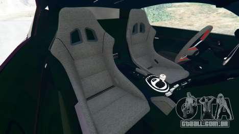 GTA 5 Audi R8 [LibertyWalk] vista lateral direita