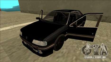 Peugeot 405 Drift para GTA San Andreas vista traseira