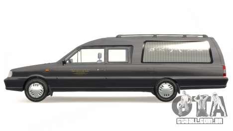 Daewoo-FSO Polonez Bella DC carro funerário 1998 para GTA 4 esquerda vista