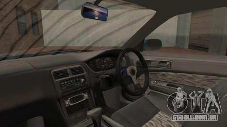 Nissan Silvia S14 Chargespeed Kantai Collection para GTA San Andreas vista traseira