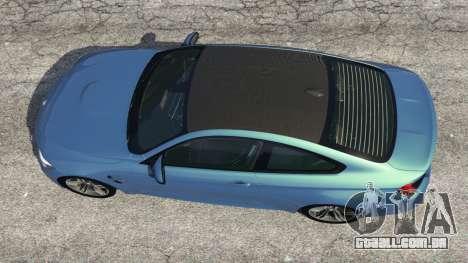 GTA 5 BMW M4 2015 voltar vista