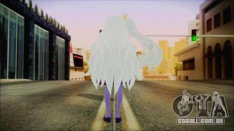Shiro (No Game No Life) para GTA San Andreas terceira tela