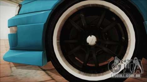 Nissan Silvia S14 Chargespeed Kantai Collection para GTA San Andreas traseira esquerda vista
