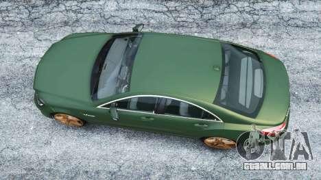 GTA 5 Mercedes-Benz CLS 63 AMG v1.0 voltar vista