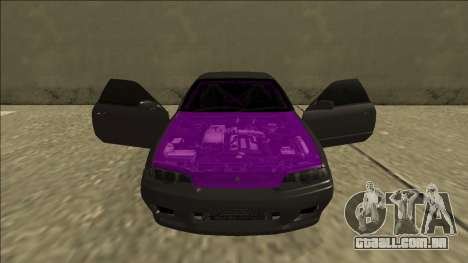 Nissan Skyline R32 Drift para GTA San Andreas vista superior