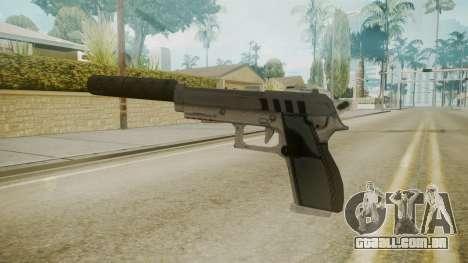 GTA 5 Silenced Pistol para GTA San Andreas segunda tela