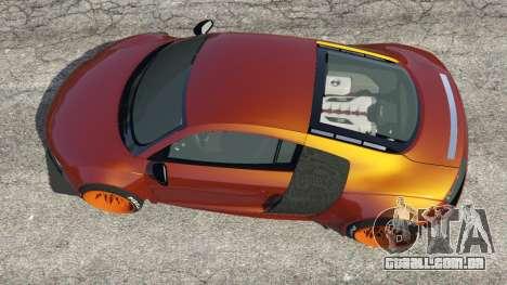 GTA 5 Audi R8 [LibertyWalk] voltar vista