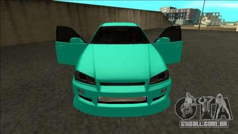 Nissan Skyline ER34 Drift para GTA San Andreas vista superior