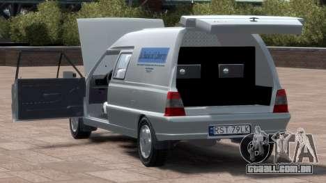 Daewoo-FSO Polonez Bella Blindado 2000 para GTA 4 vista superior