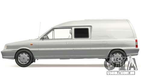 Daewoo-FSO Polonez Bella Blindado 2000 para GTA 4 esquerda vista