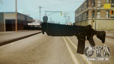 SIG-556 Patrol Rifle para GTA San Andreas segunda tela
