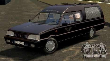 Daewoo-FSO Polonez Bella DC carro funerário 1998 para GTA 4