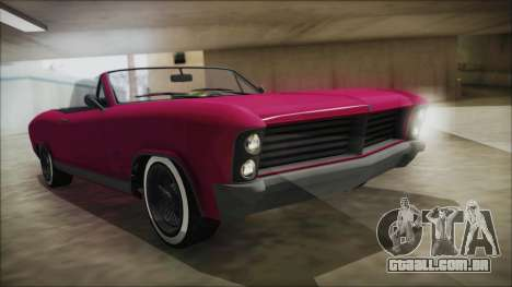 GTA 5 Albany Buccaneer Bobble Version para GTA San Andreas