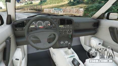 GTA 5 Volkswagen Corrado VR6 vista lateral direita