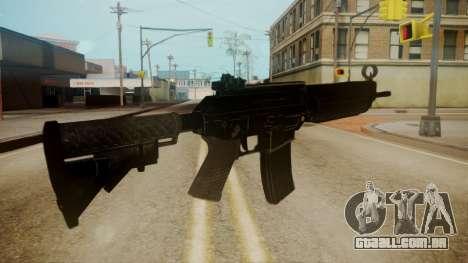 SIG-556 Patrol Rifle para GTA San Andreas terceira tela