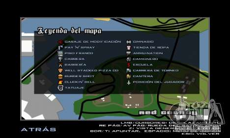 HD Radar Icons para GTA San Andreas