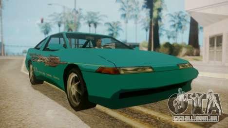 Uranus FnF Skins para GTA San Andreas traseira esquerda vista