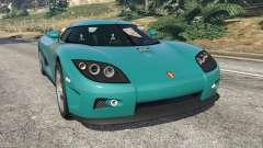 Koenigsegg CCX [Beta] para GTA 5