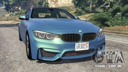 BMW M4 2015 para GTA 5