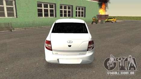 Lada Granlina para GTA San Andreas traseira esquerda vista