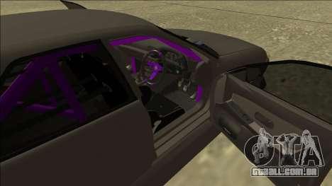 Nissan Skyline R32 Drift Sedan para GTA San Andreas vista superior