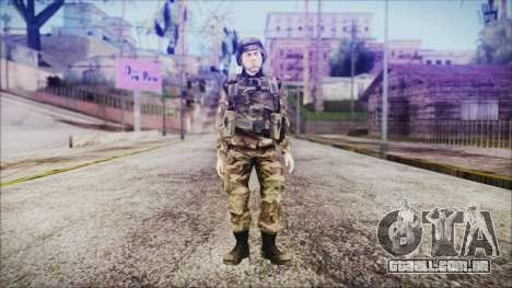 World In Conflict US Marine para GTA San Andreas segunda tela