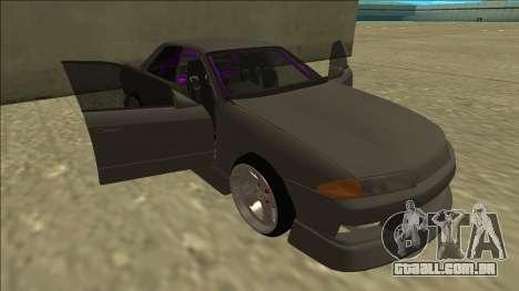 Nissan Skyline R32 Drift Sedan para as rodas de GTA San Andreas