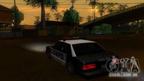 ENB Settings Janeair 1.0 para GTA San Andreas segunda tela