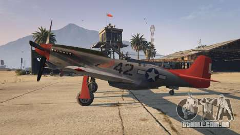 GTA 5 P-51D Mustang segundo screenshot