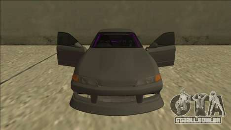 Nissan Skyline R32 Drift Sedan para o motor de GTA San Andreas
