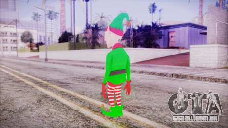 Christmas Elf v2 para GTA San Andreas terceira tela