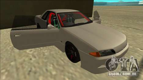 Nissan Skyline R32 Drift para GTA San Andreas vista inferior