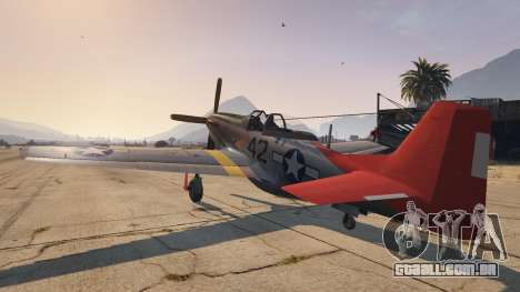 GTA 5 P-51D Mustang terceiro screenshot