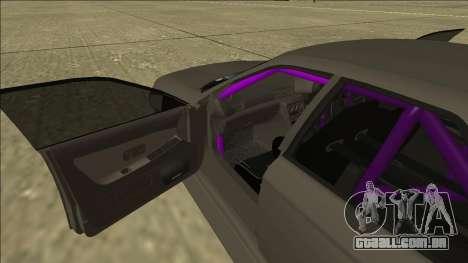 Nissan Skyline R32 Drift Sedan para GTA San Andreas vista inferior