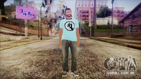 GTA Online Skin 52 para GTA San Andreas segunda tela