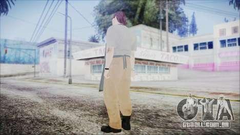GTA 5 Ammu-Nation Seller 1 para GTA San Andreas terceira tela