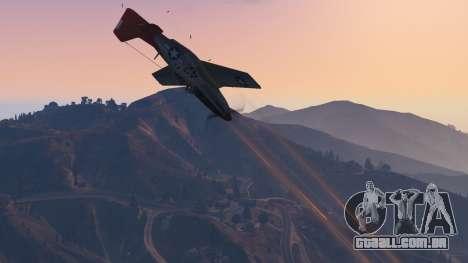 GTA 5 P-51D Mustang nono screenshot