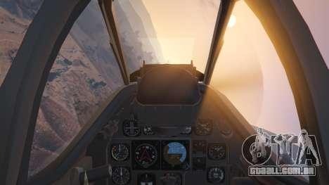 GTA 5 P-51D Mustang sexta imagem de tela