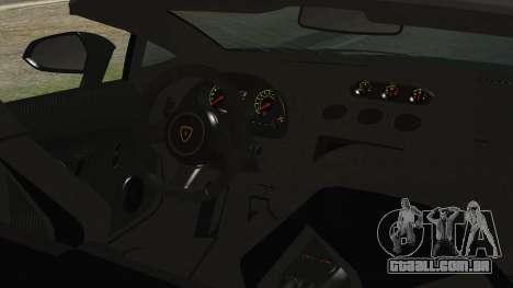 Lamborginhi Gallardo LP-570 Spyder HxH Neferpito para GTA San Andreas vista direita