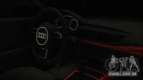 Audi A7 Messer v1 para GTA San Andreas vista direita
