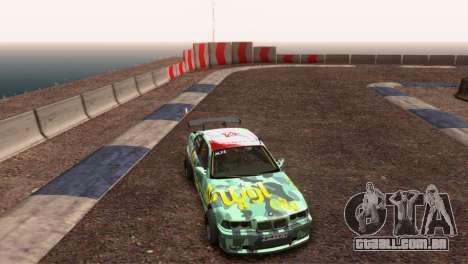 Bmw E36 Plena Sintonia para GTA San Andreas vista traseira