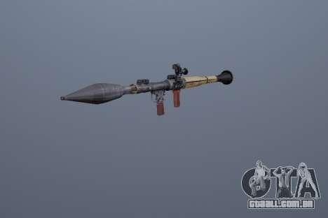RPG-7 para GTA San Andreas