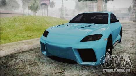 Mazda RX-8 Reventon Itasha Vocaloid Miku para GTA San Andreas